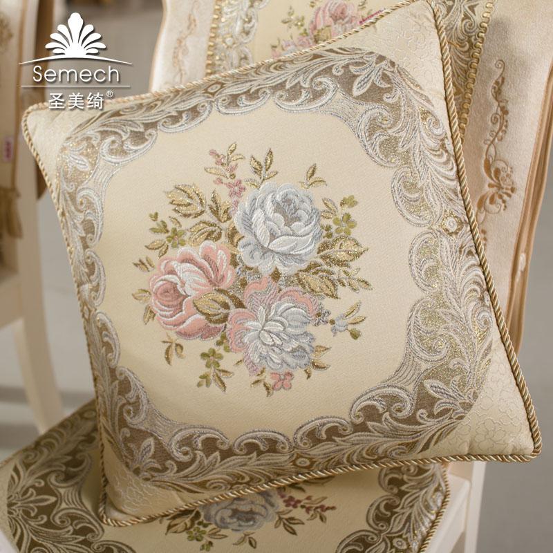 圣美绮欧式沙发靠垫
