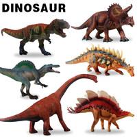 恐龙模型恐龙玩具仿真实心侏罗纪恐龙模型霸王龙三角龙异特龙