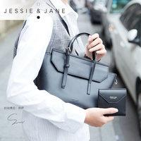 JESSIE&JANE及简多色单肩手提包短款钱包1676女包大小套包