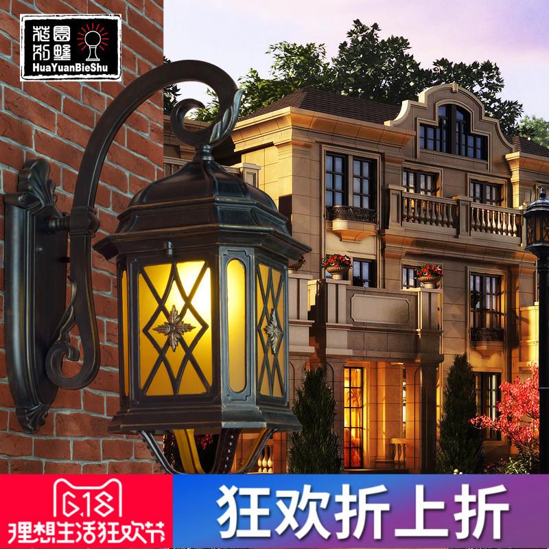 花园别墅庭院欧式复古灯186B