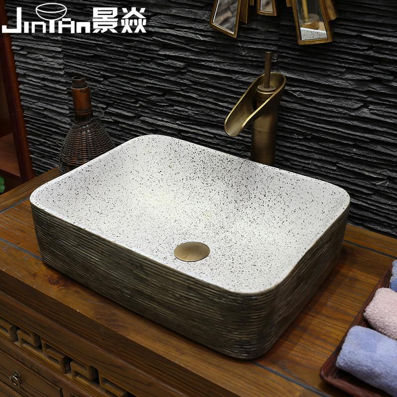 景焱古典复古艺术面盆JY-9614
