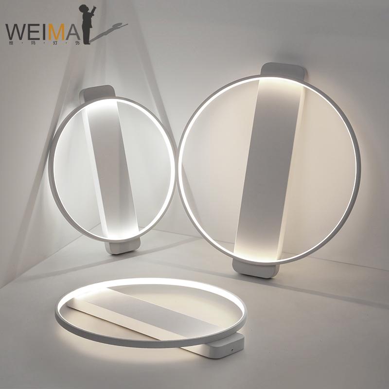 维玛北欧圆形led吸顶灯P558A
