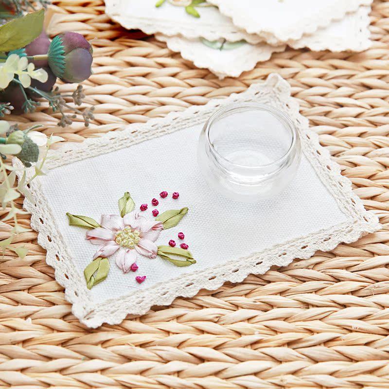 格兰蒙十字绣杯垫子餐垫S