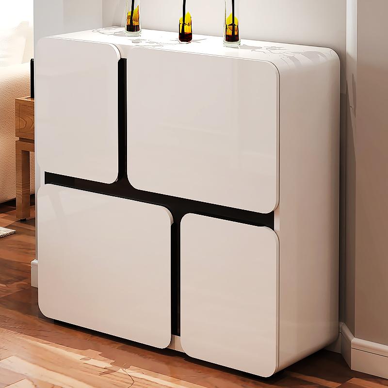 欧意朗烤漆现代对开门储物柜A173A166