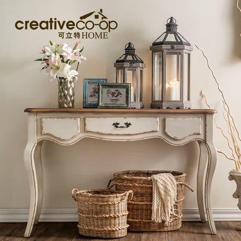 Creative home复古咖啡桌DF0218