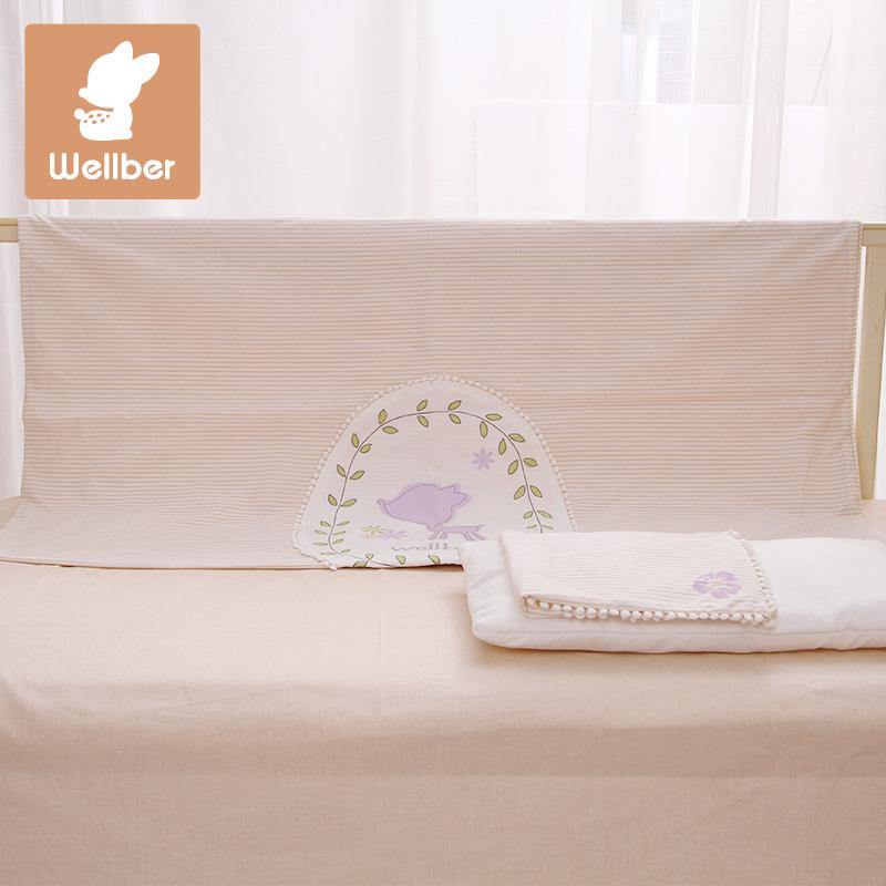 威尔贝鲁纯棉婴儿床品四件套16311510203A1145