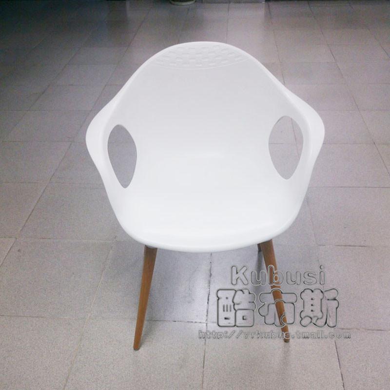 酷布斯现代创意休闲塑料家用餐椅NCC-1