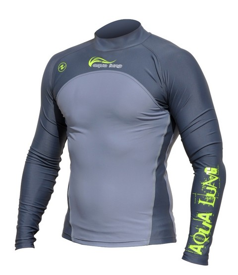 Гидрокостюм Aqua/Lung Aqualung Rash Guard Charcoal Aqua-Lung