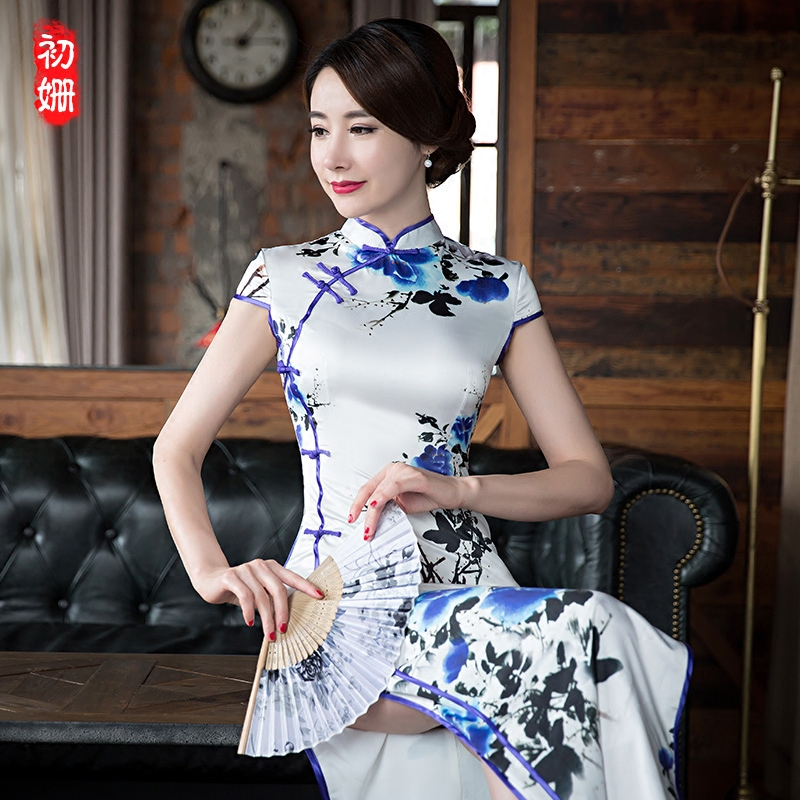 Cheongsam dress Beginning of the Shan chs043