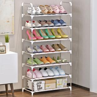 鞋架家用经济型简易鞋架置物架防锈钢管收纳架省空间门口鞋架子