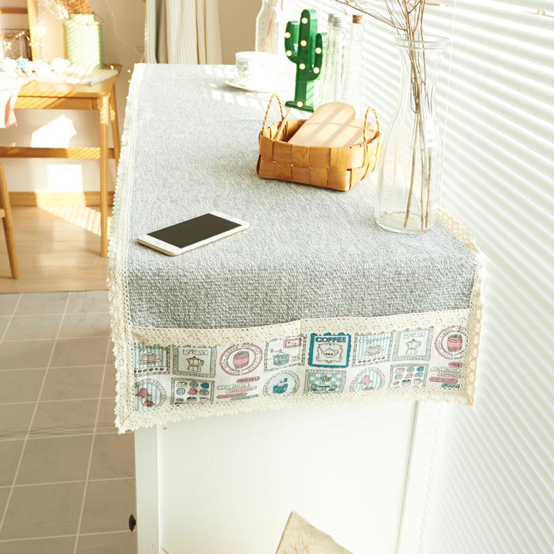 珍珠松桌旗餐桌布衣柜盖巾3