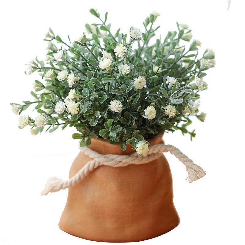 бонсай Искусственные растения бонсай искусственный цветок Скандинавские дома гостиной журнальный столик стол небольшой горшечные цветочные украшения фенечки украшения