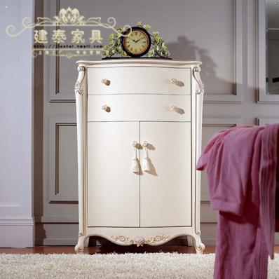 建泰法式实木柜2门kk059
