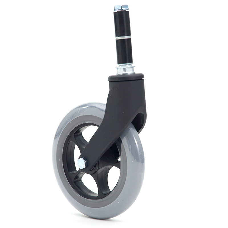 MIKI三贵轮椅车配件免充气胎前轮后轮扶手坐垫靠背垫手杖脚垫