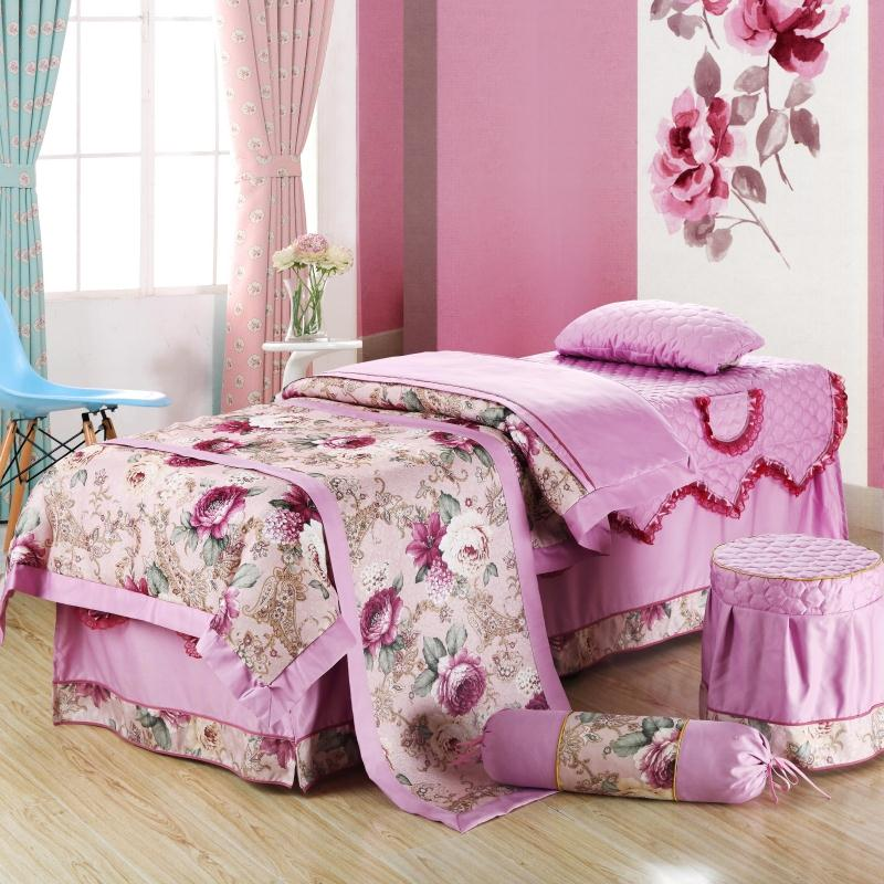 皇城国际印花床罩008