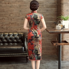 Cheongsam dress Chinese yarn q2026 2017