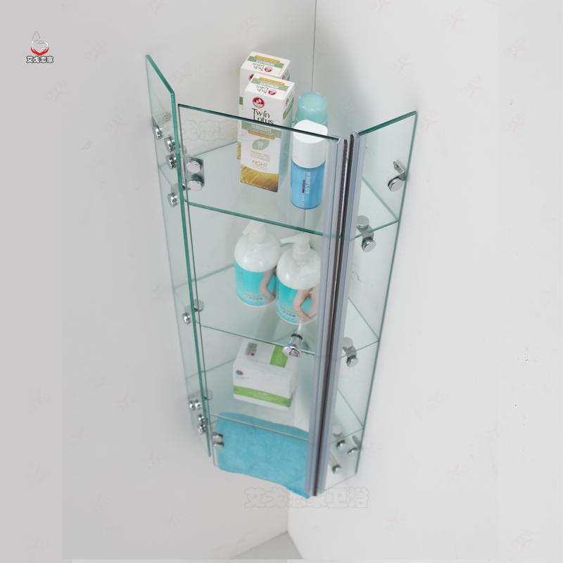 玻璃置物架壁挂墙上淋浴房置物架02