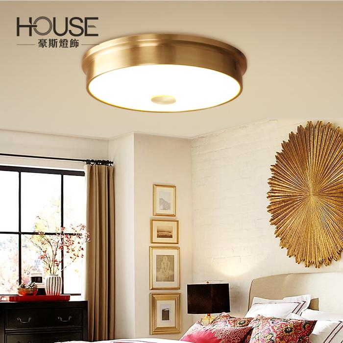 豪斯全铜简约现代吸顶灯BS-MAX01035024