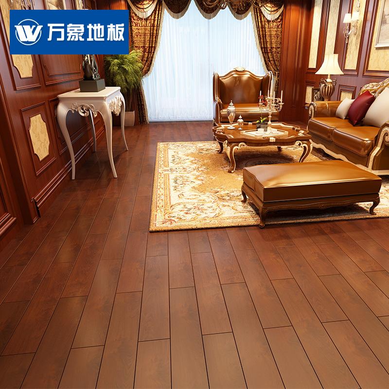 万象实木复合地板QX808