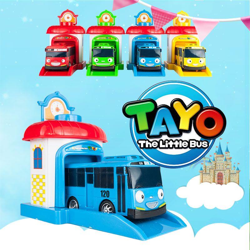 热销韩国泰路tayo巴士 动漫可爱小汽车太友小公交车儿童卡通玩具图片