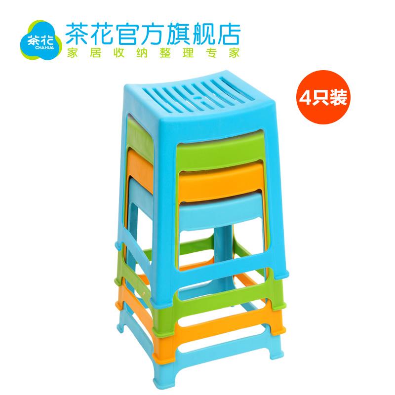 茶花塑料凳子0838p