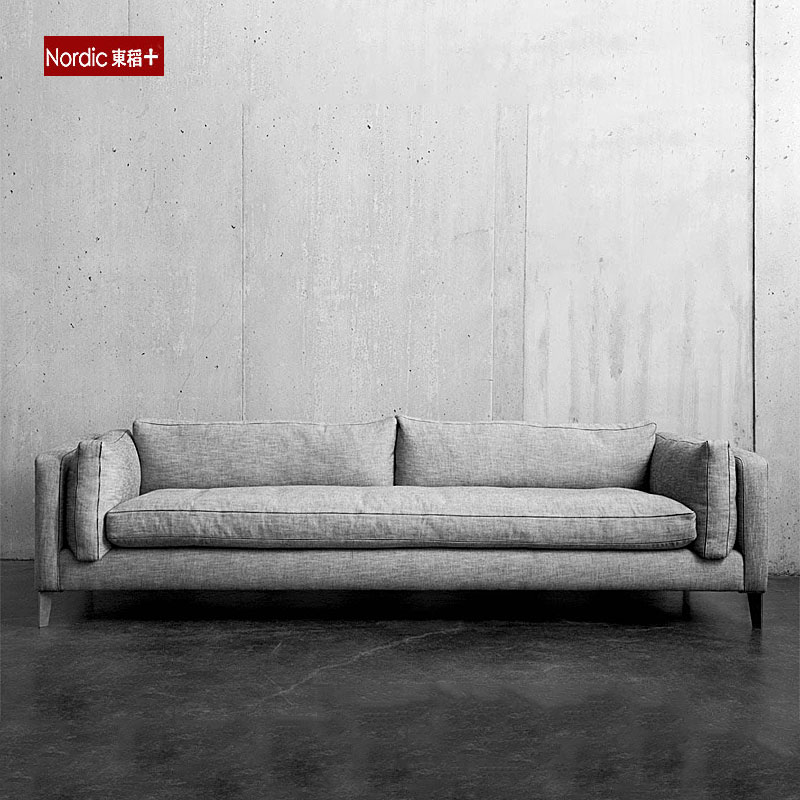 东稻 布艺沙发 羽绒沙发 乳胶沙发北欧简约沙发 后现代小户型沙发