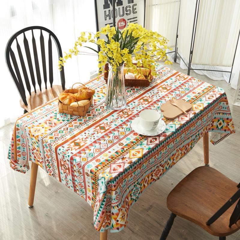 珍珠松茶几台布缤纷世界桌布1
