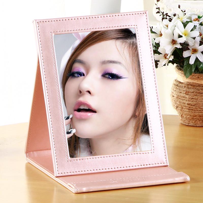 雅皮仕随身折叠化妆镜 便携化妆镜