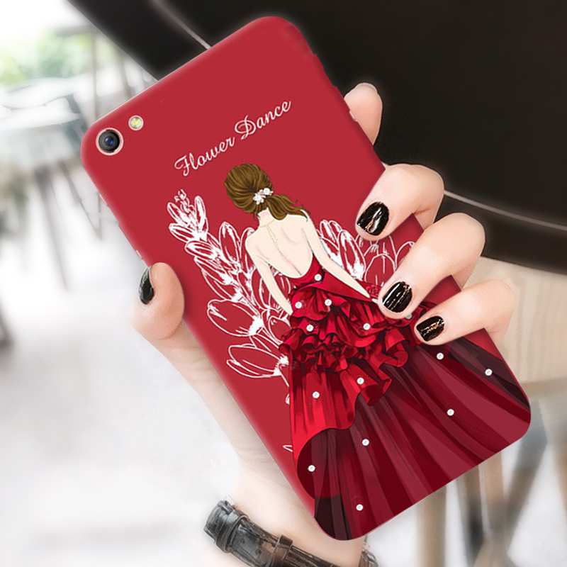 oppoa59s手机壳女款潮a59m简约韩国oppoa77硅胶全包边新防摔套a57