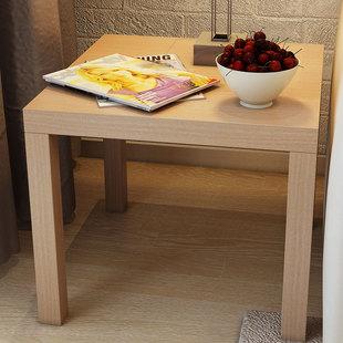 沙发茶桌木桌子小方桌现代简约茶几桌客厅拉克边桌方几边几角几
