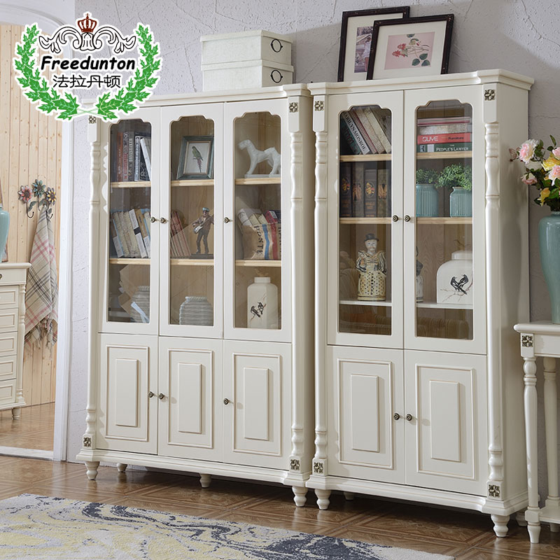 法拉丹顿实木美式书柜8601