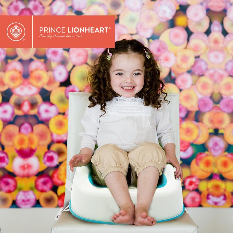 Prince Lionheart美狮宝儿童增高餐椅宝宝加高椅 吃饭凳子 便携凳