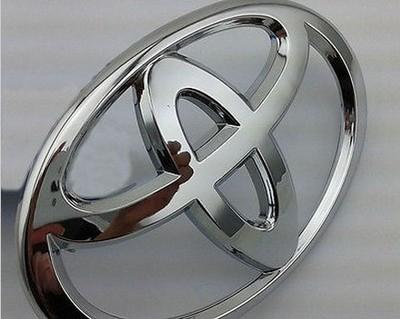 丰田车标 汽车方向盘标前后标 威姿霸道阿尔法凯美瑞卡罗拉改装标