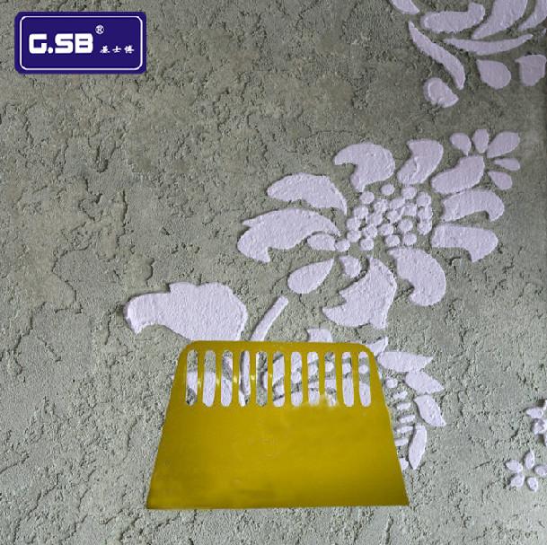 基士博硅藻泥质感涂料工具塑料刮板