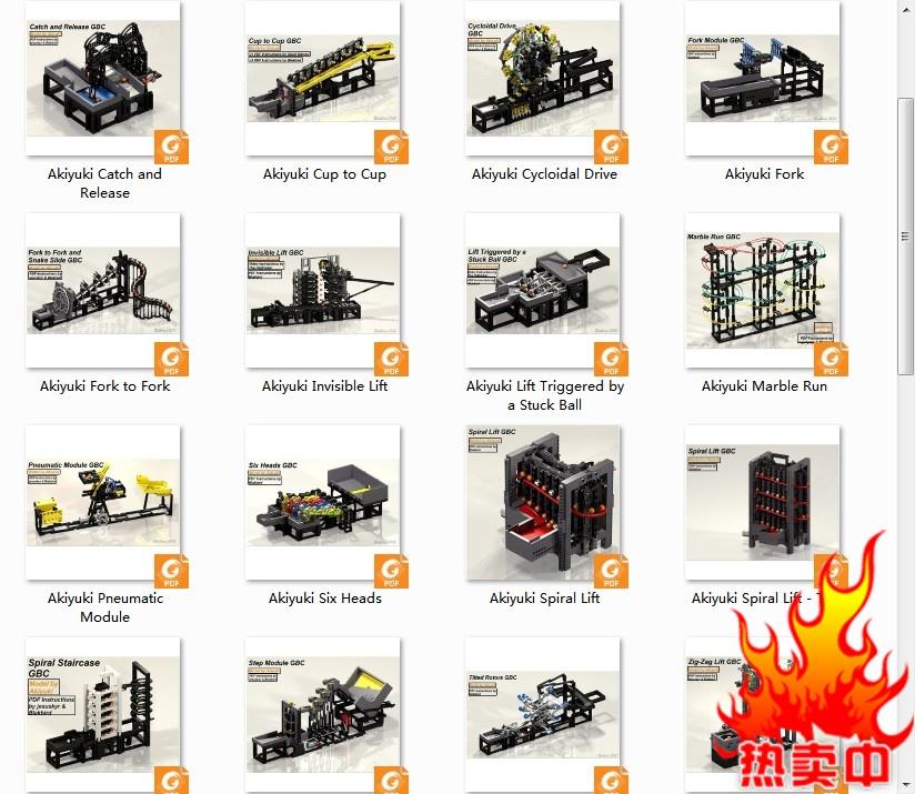 Image result for lego gbc akiyuki marble run