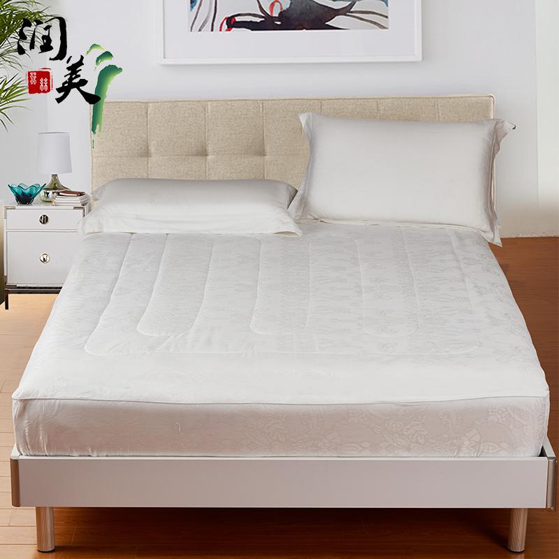 润美桑蚕丝床垫T20140619