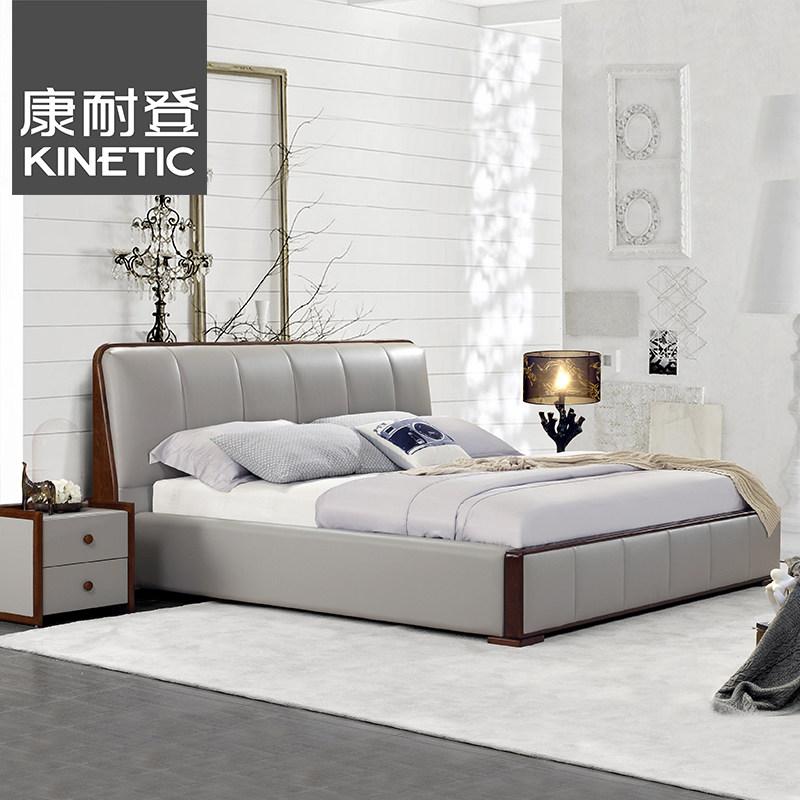 康耐登现代简约皮艺床KND-3007