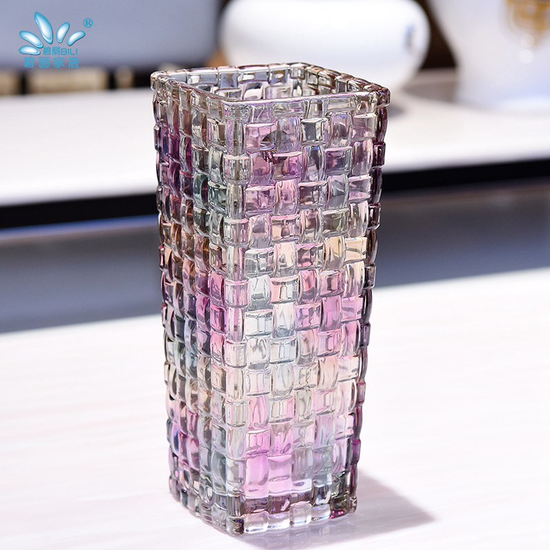 碧丽欧式现代简约玻璃花瓶