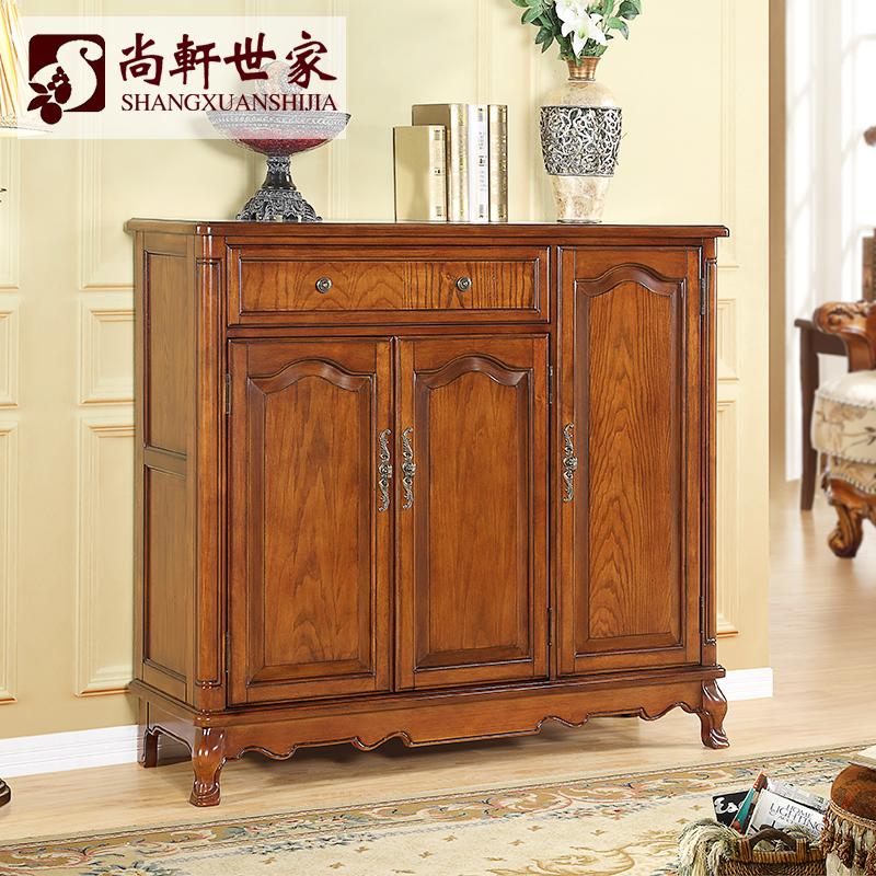 尚轩世家美式复古储物柜