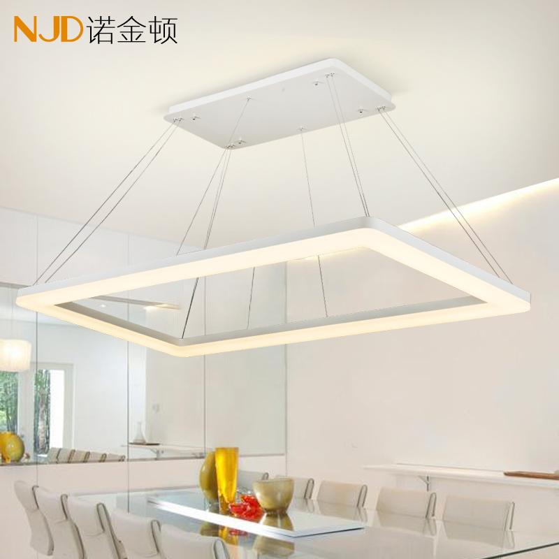 诺金顿led长方形吊灯875D