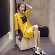 2017夏装新款韩版女装 五分袖T恤
