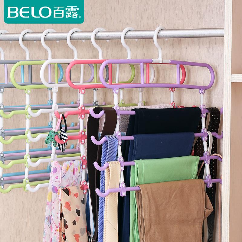 百露4个装裤架多功能型裤架子BL3826-1
