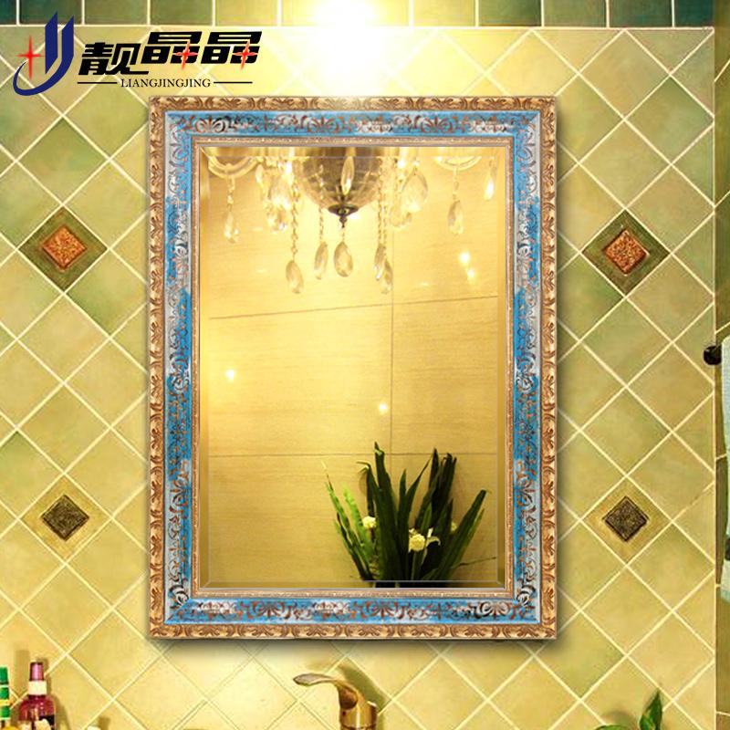 靓晶晶壁挂欧式卫浴镜子k8559