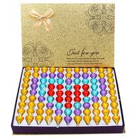 包邮好时巧克力kisses礼盒装创意生日礼物99粒diy圣诞节礼物