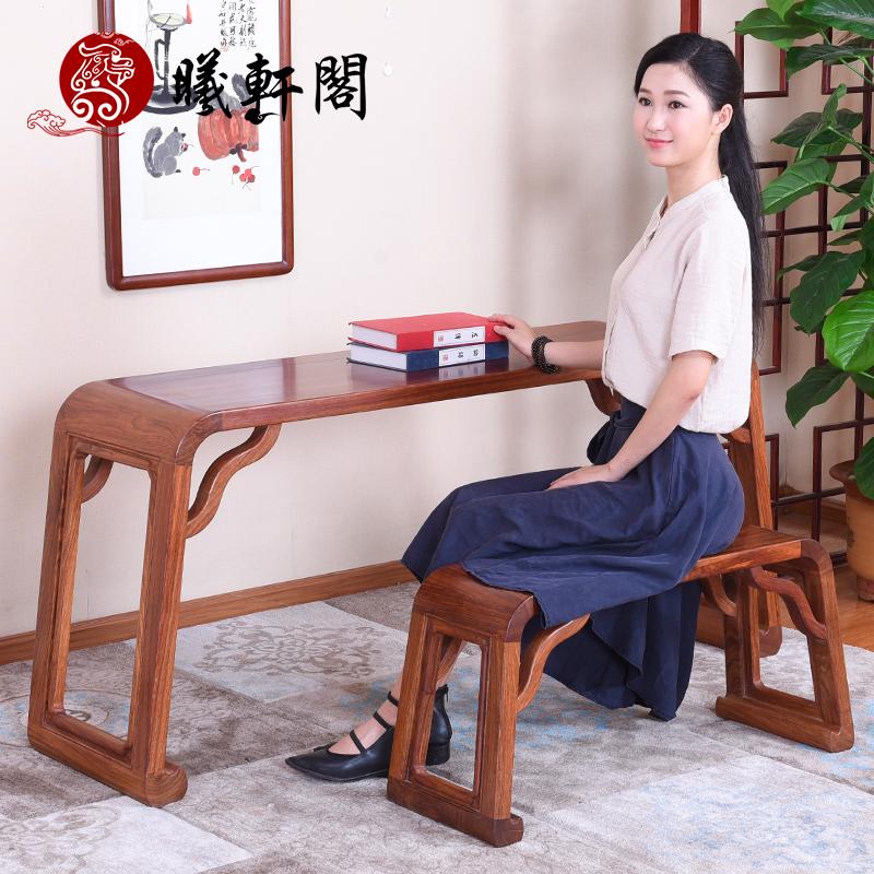 曦轩阁书桌桌凳cwzt-qz056