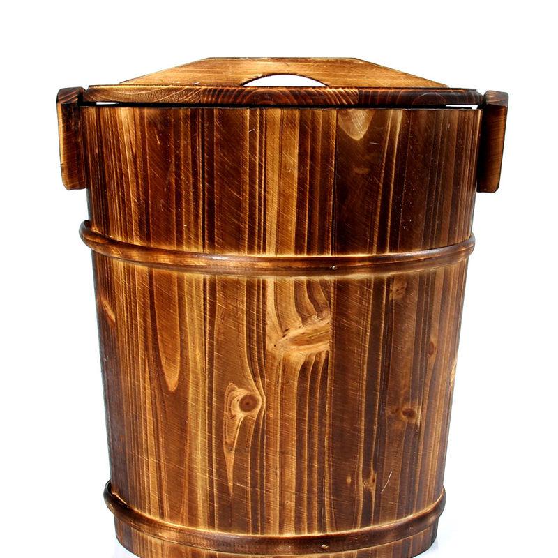 百鸿炭化木茶渣桶茶叶垃圾桶2014-BHCZT