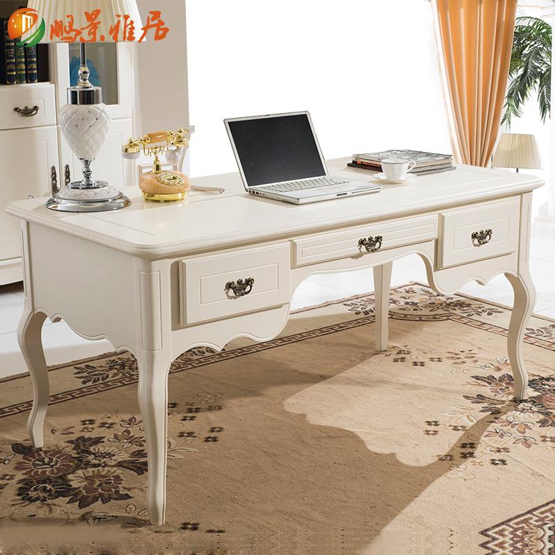 鹏景雅居美式书桌欧式书桌e71