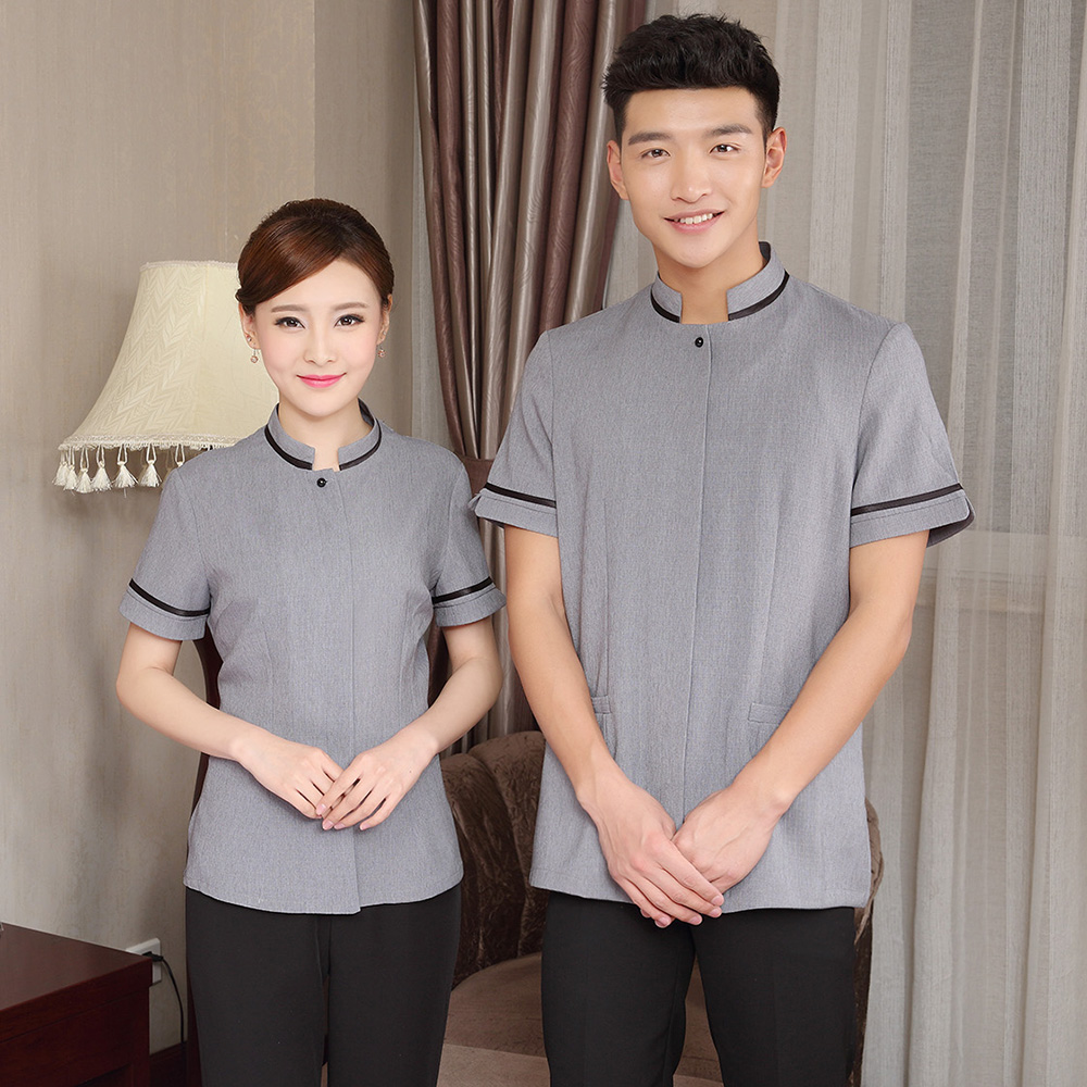 Cleaning services with hotel housekeeping staff in autumn ...