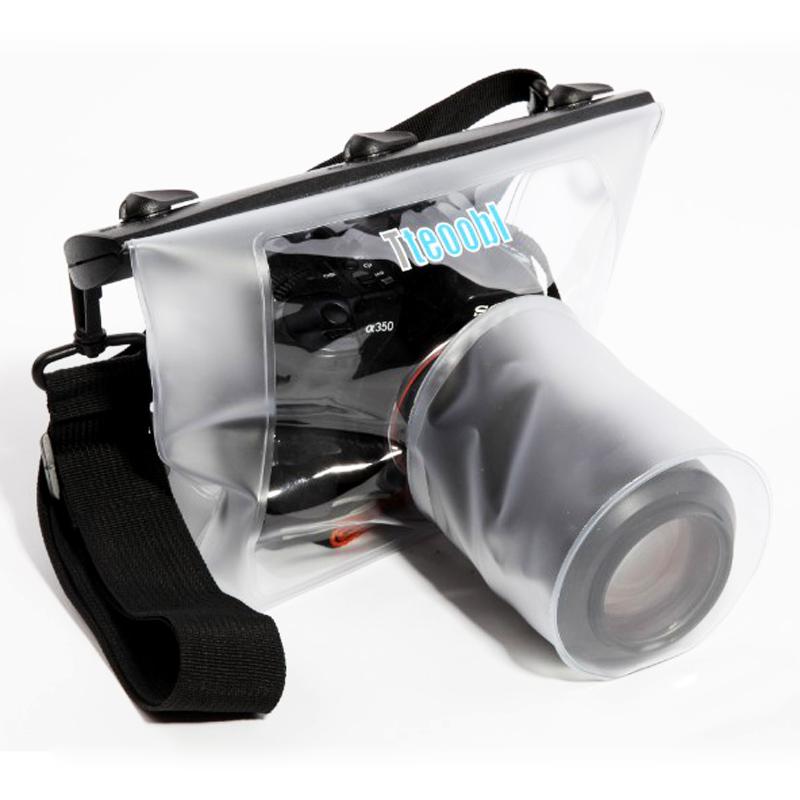 特比乐单反相机防水袋 18-135 潜水包 18-200相机防水罩 漂流游泳
