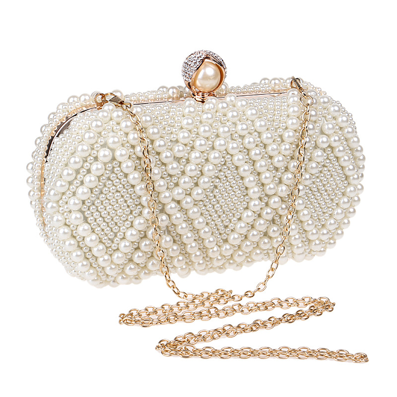 New female fashion high-end banquet dinner bag socialite han...